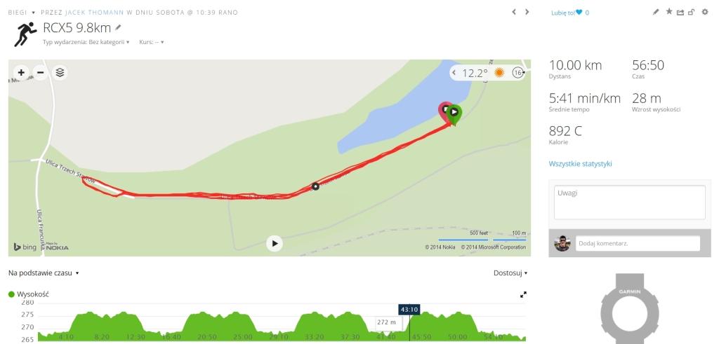 RCX 5 9,8km