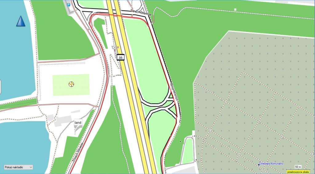 Edge 25 - jakość GPS
