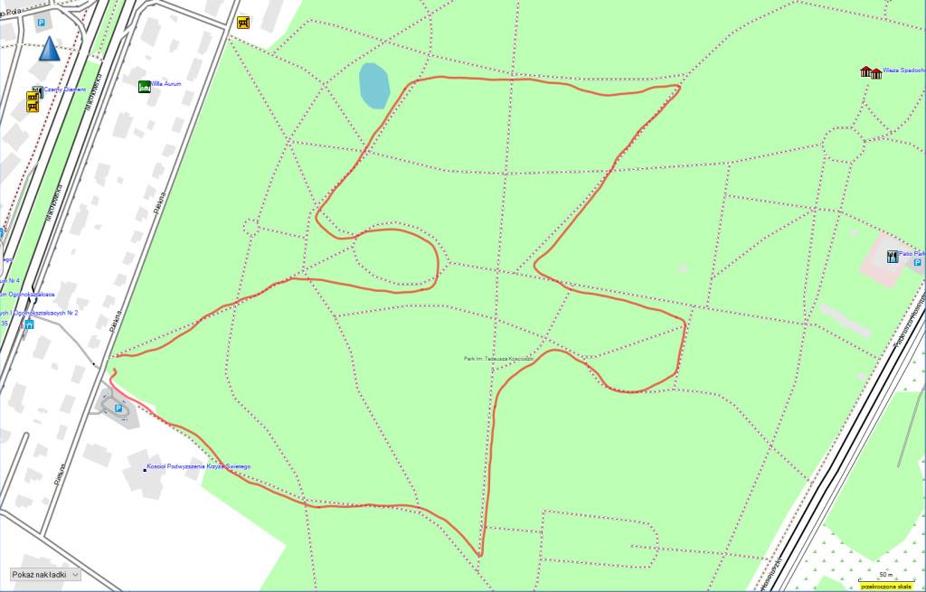 M400 - GPS Park