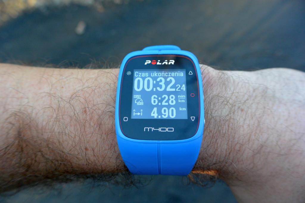 M400 - szacunkowy czas
