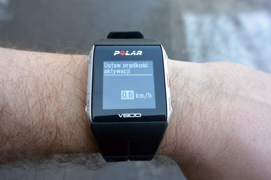 V800 - aktywacja
