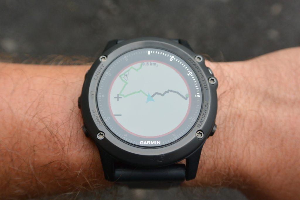 Fenix3HR- nawigacja