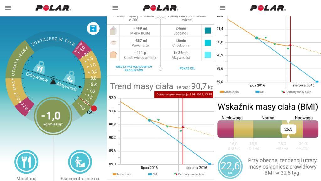Polar Balance - aplikacja mobilna