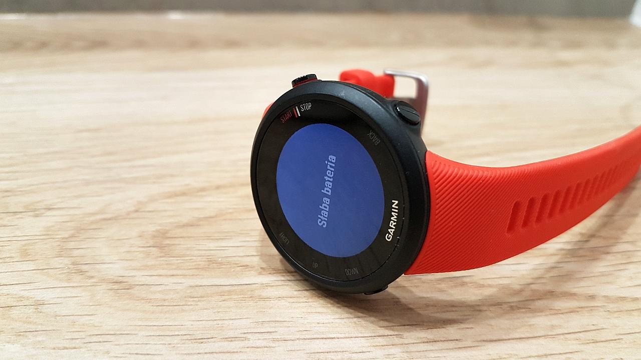 zegarek biegowy garmin i opaska mierząca tętno