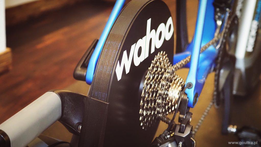 Wahoo KICKR - widok z tyłu